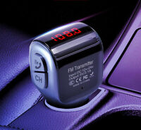 Wireless In-Car Bluetooth5.0 FM Transmitter MP3 Radio Adapter Car Kit USB Charge