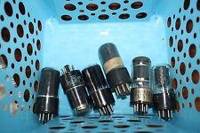 6SA7 GLASS VINTAGE TUBE - GE, RCA &  ETC. - TEST STRONG