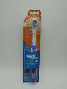 Oral B Complete Action Deep Clean Power Electric Toothbrush Soft Head New Purple