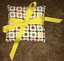 Unique Handmade Orla Kiely Ring Bearer Pillow Wedding Flowers