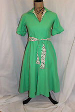 Vintage Jonathan Logan Belted Dress 5/6 Union Label