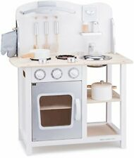 11053 Wooden Pretend Toy Kitchen for Kids Role Play Included