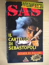 Il cartello di SebastopoliDe Villiers GerardMondadorisegretissimoSAS 1 79