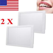 2pcs Dentist Dental X Ray Film Illuminator Light Box X Ray Viewer Light Panel A4
