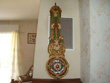 ANCIEN MOUVEMENT PENDULE HORLOGE COMTOISE BALANCIER OROLOGIO OLD CLOCK UHR RELOJ