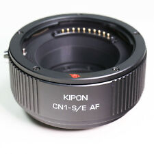 Kipon Auto focus Contax N CN1 mount Lens to Sony E adapter NEX-A7 A6000 A6300 AF