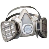 3M 21565 Half Facepiece Disposable Respirator Assembly 5101 Organic Vapor, Small