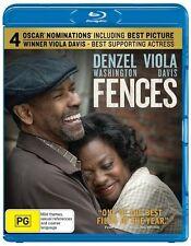 Fences Blu-ray NEW Denzel Washington Viola Davis Region B