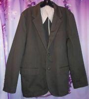 L.L.BEAN ZAMBEZI Cotton Twill Travel Safari Jacket/Blazer , Pockets Man 42R