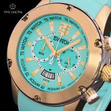 TechnoSport 47mm Swiss Quartz Chronograph Silicone Strap Watch - TS-750-17