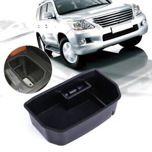 Fit for LEXUS LX570 Black Center Console Armrest Storage Box Bin Glove Tray
