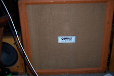 ORANGE 'VOICE OF THE WORLD' 4x12 *1970* 4-MATCHED DATE 1974 CELESTION CREAMBACKS