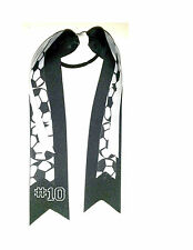 Soccer Hair Streamers Ribbon Bow Free personalization!  Choose your colors!