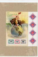 2001 -  Pan-American Exposition Invert Souvenir Sheet - Scott Catalog #3505 MNH