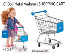"18"" Doll Grocery Store Metal SHOPPING CART for My Life as American Girl or Boy"