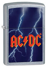 Zippo Windproof AC/DC Street Chrome Lighter, # 28453, New In Box