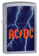 Zippo Windproof AC/DC Street Chrome Lighter, # 28453, New In Box
