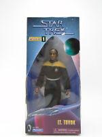 1997 Star Trek Playmates Lt. Tuvok 9in Warp Factor Series 1 Figure in Box