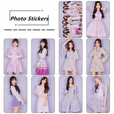 Kpop Twice Members Photo Stikcy Card HD Photocard Sticker Crystal Card Sticker