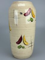 50er 60er Jahre Vase Blumenvase Bodenvase Keramik Mid Century Nierentisch Ära