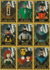 BATMAN: THE ANIMATED SERIES UNCUT PROMO SHEET 9-CARDS - SDCC 2015 EXCLUSIVE