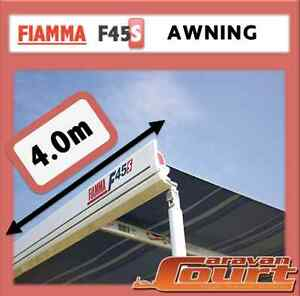 NEW FIAMMA F45S 4.0M 4m WIND OUT AWNING ANNEX FOR CARAVANS MOTORHOMES & VANS