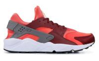 Nike Air Huarache Run Gunsmoke/Team Red-Rush Coral 318429-054 US Men Size 11.5