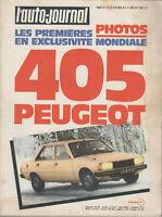 L'AUTO JOURNAL 1977 6 GENEVE ROVER 3500 PEUGEOT 305 CITROEN GS 1220 CLUB PORTUGA