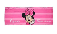 Disney Minnie Mouse Body Pillow Cover - Pink - Super Soft - 20in x 54in