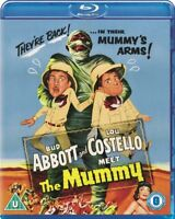 Nuovo Abbott & Costello Meet The Mummy Blu-Ray