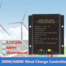 600W 12V/24V Wind Turbine Generator Charge Controller  Boost MPPT Regulator