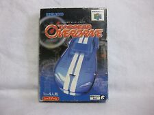 TOP GEAR OVERDRIVE Nintendo 64 Japan Video Games