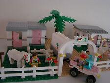 LEGO 6419+6405- RANCH+ETABLES-VINTAGE année 1992-