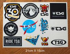 TSG Skateboard BMX Snowboard 1 Stickerbogen mit 14 Aufkleber Sticker (S214)