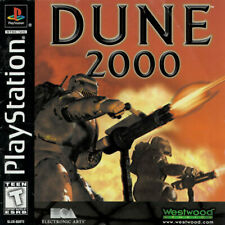 DUNE 2000 NTSC-U/C US USA Import Sony Playstation PSX PS1 (Mouse + Link compat.)