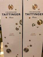 Taittinger Champagne Cuvée prestige cofanetto regalo
