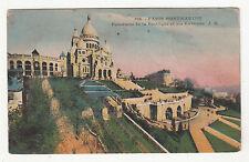 *** Paris - Montmartre - Panorama de la Basilique et Environs *** SD - CPA 0666