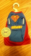 NWT DC Comics Superman Pet Costume. Size XS