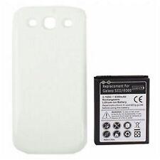 Power Akku 4300mAh für Galaxy S3 i9300 mit Back Cover weiß #a986