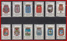 ESPAÑA (1963) MNH - NUEVO SIN FIJASELLOS SPAIN - EDIFIL 1481/92 ESCUDOS,,,,