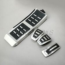 Fuel Gas Brake Foot Rest MT Pedal Plate Cover for 13-16 Audi A4 A5 A6 RS7 A7 Q5