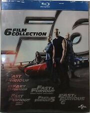 Fast and furious 1-6 film collection (2013) 6 Blu Ray