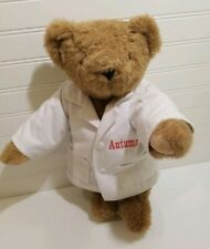 Vermont Teddy Bear Autumn Circus Doctor fully jointed classic plush toy 16""