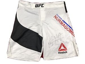 KHABIB NURMAGOMEDOV Signed Autographed THE EAGLE UFC, MMA Trunks. Auth By JSA