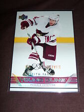 06-07 UD Exclusives Keith Yandle YG RC 3/100 * 1/1 His Jersey # * Young Guns