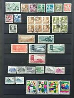 CHINA, PEOPLES REP. 1955-64: 6 used sets (28 stamps)+ 2 blocks