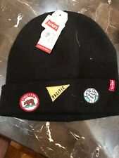 LEVI'S California Pacific Black  BEANIE HAT CAP ONE SIZE