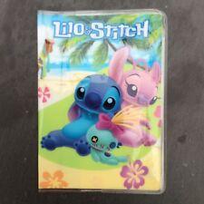 Disney Lilo & Stitch pasaporte id de viaje de identidad cubrir titular Vacaciones Lindo Regalo