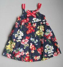Janie and Jack Girls 18 24 Mo CIAO BELLA Floral Sundress EUC Navy Blue Red