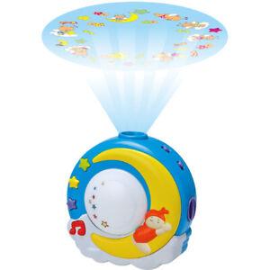 LED Nachlicht Projektor Lampe mit Musik für Baby Kinder Thema Sternhimmel